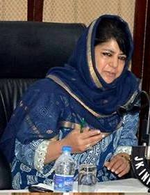 Mehbooba welcomes appointment, asks 'stakeholders' to come forward
