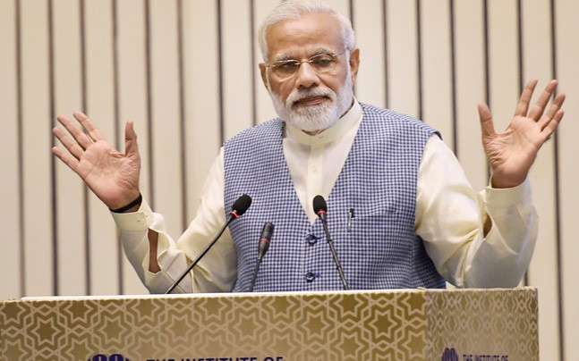 Modi quotes Chanakya, Mahabharata to denounce critics