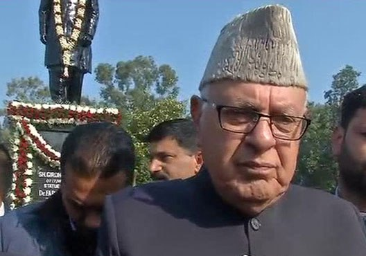 Farooq wants 'action' against students who sat during national anthem