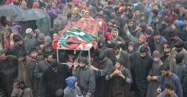 Handwara encounter: Locals protest woman's killing