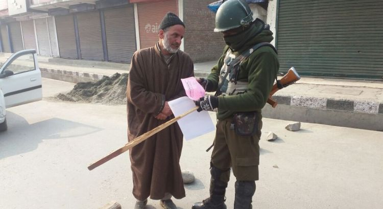 IN PICTURES: Restrictions, clashes in Srinagar