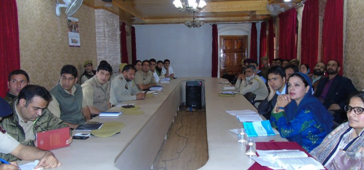 Special training programme for Juvenile Justice Act held at DPL Srinagar