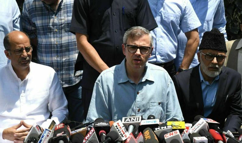 Want Statement In Parliament Not from Governor: Omar