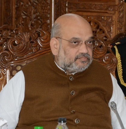 Home Minister Reviews J&K Situation