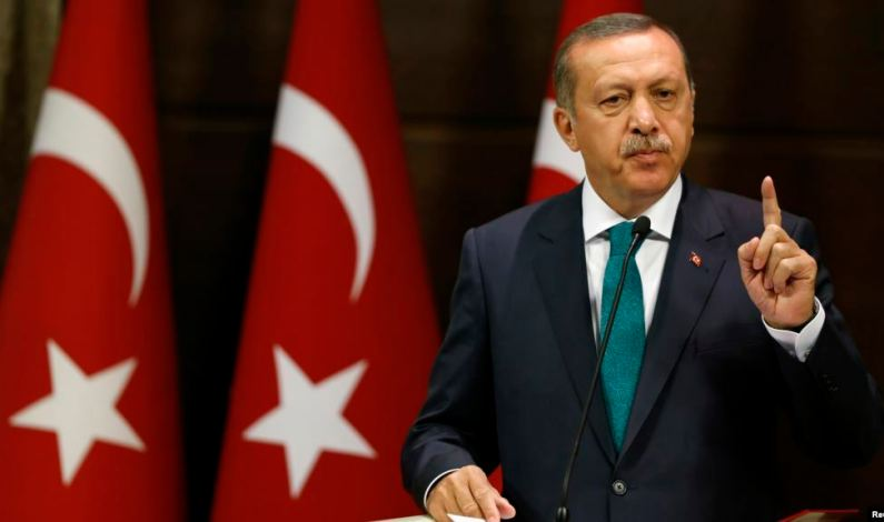 Erdogan Hits Out At Some Arab Countries' 'Treason' Over Trump Plan