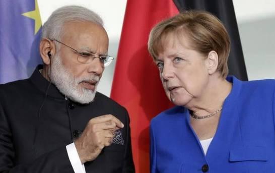 Modi-Merkel Talks Could Include Kashmir, EU MPs Visit