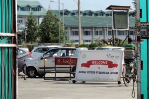 NIT Srinagar Reopens, Only 30 Students Turn Up