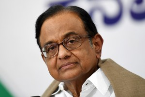 People Of JK,Ladakh Want Freedom,Restoration Of Human Rights:Chidambaram