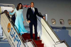 Britain's Prince William, Kate Arrive In Pak On 5-Day Visit