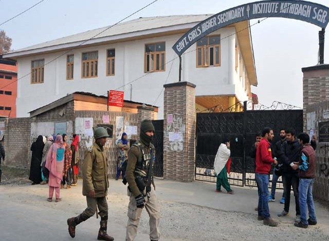 Arrangements Made For Class 10th, 12th Exams In Kashmir