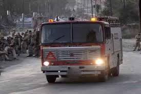 11 Shops Gutted In Magam Fire Incident