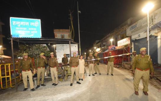 Ayodhya On Edge Ahead Of Verdict, Elaborate Security Across Country