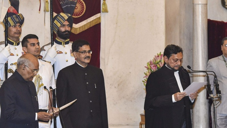 Justice Bobde Takes Oath As 47th Chief Justice Of India