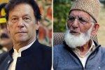 Geelani Writes Letter To Imran Khan