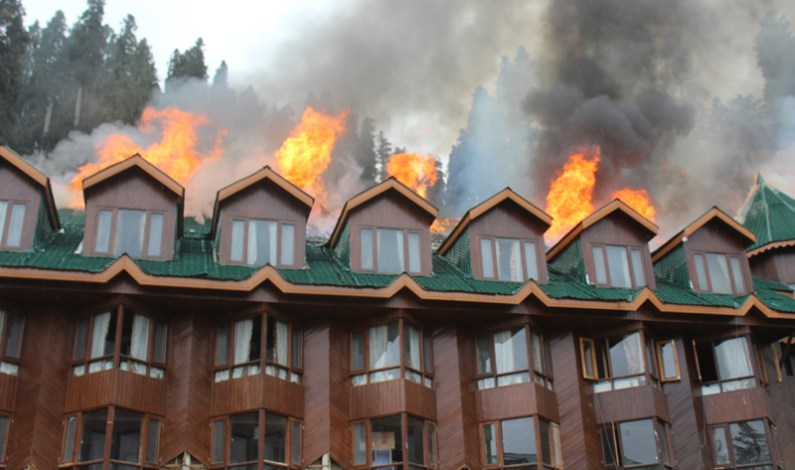 Fire Safety Audit Ordered In Hotels Across J&K