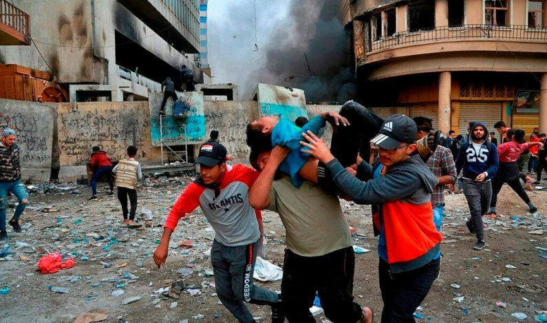 27 Iraqi Protesters Killed In 24 Hours, Violence Spirals