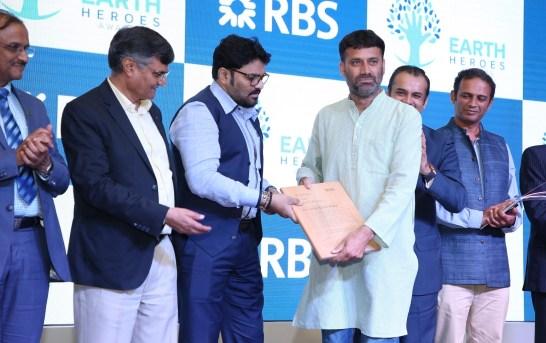 Jalal Ud Din Baba Awarded The 'Inspire' Award