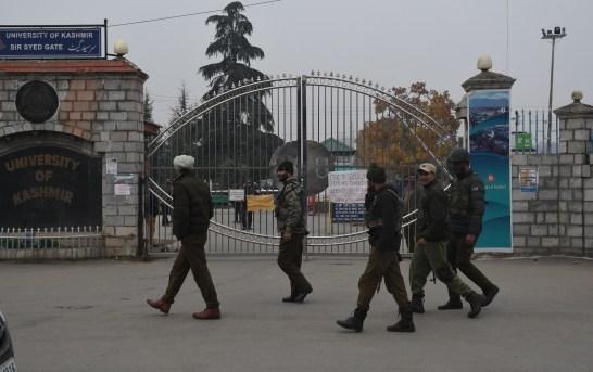 3 Injured In Blast Near Kashmir University