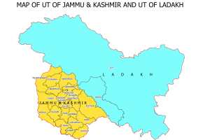 Govt Releases New Maps of J&K, Ladakh