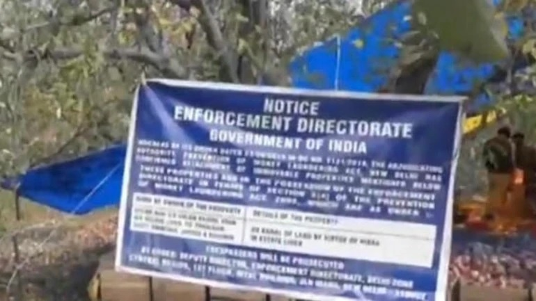 Delhi Team Attaches Personal Land Of 2 Ex Hizb Militants