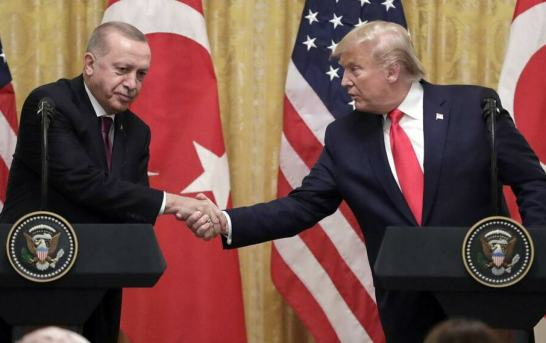 Despite 'Wonderful' Meeting, Trump And Erdogan Fail To Resolve Conflicts