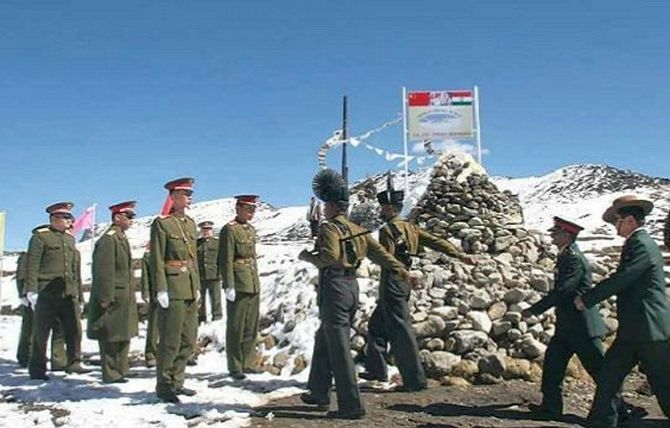 PLA Digging Tunnels Near Disputed Mountain Spur In Ladakh