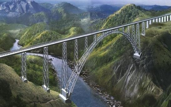 Chenab Rail Bridge to Withstand 40 Kg-TNT Blast, Intensity 8 Quake