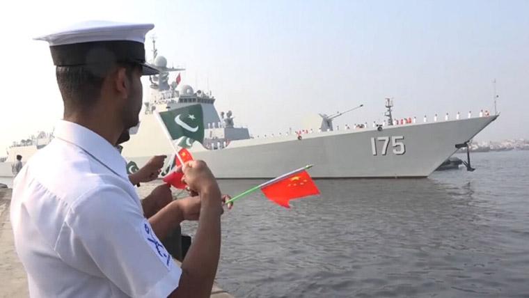 China, Pak Navies Deploy Submarines In Arabian Sea Drills