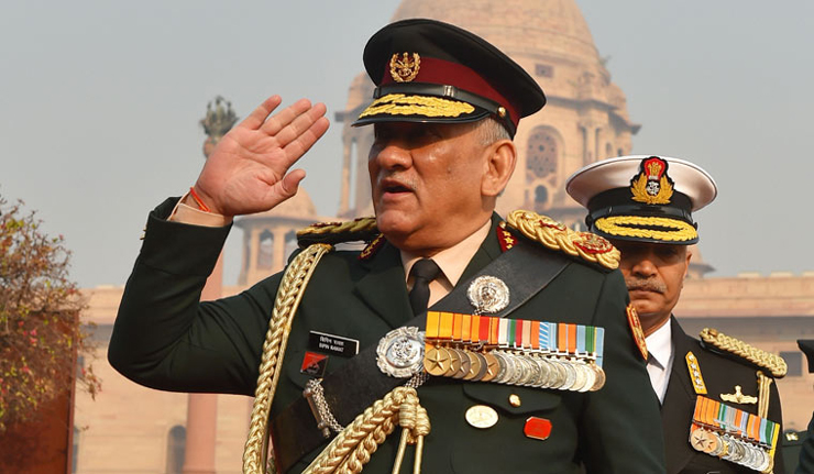 CDS Wants India To Mimic US While Dealing With Terror