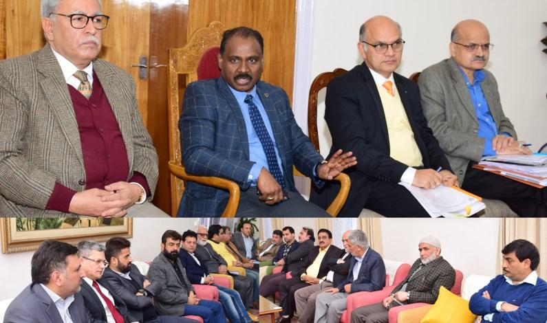 Kashmir Trade Bodies Call On LG Murmu