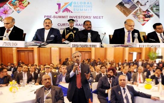 Govt Intends To Make J-K 'Economic Paradise' For Investors: LG Murmu