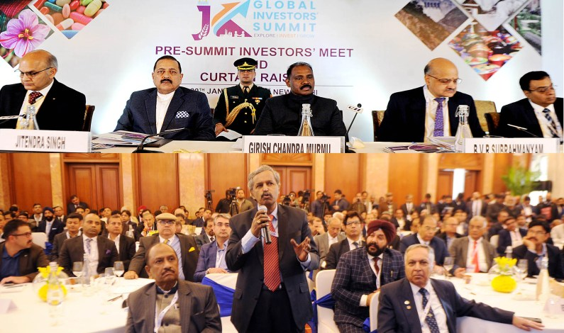 Preparations In Full Swing For J&K Global Investors Summit