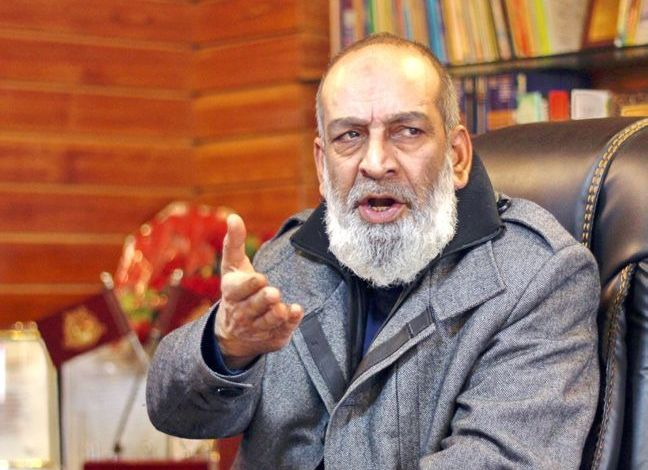 Ex-VC Kashmir University Removed From Two Key Posts