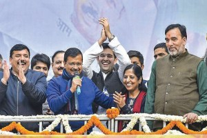 Kejriwal Trounces BJP, Retains Delhi Crown