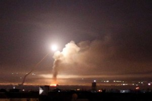 Israeli Attack On Damascus Kills Seven Fighters