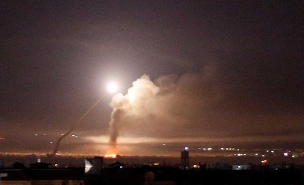 Israeli Attack On Damascus Kills Seven Fighters