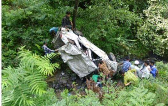 Cab Falls Into Kathua Gorge, 9 Dead