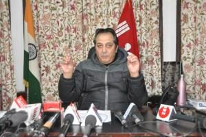 Baseer Khan Appointed as Advisor to LG J&K