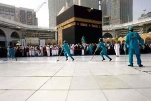 Anti-Coronavirus Measures Affect Friday Turnout At Makkah's Grand Mosque