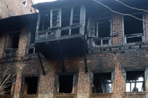 Couple, Daughter Charred To Death In Khanyar Fire Incident