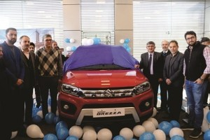 Jamkash Launches Vitara Brezza