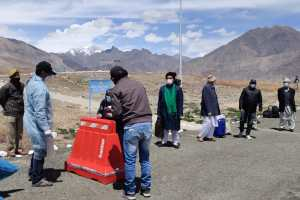 225 Iran Evacuees Airlifted From Jodhpur To Leh