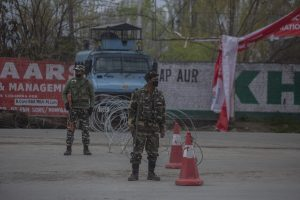 Restrictions Due To Covid-19 Continue In Kashmir