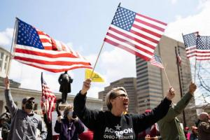 Resentment Grows In US As Hundreds Protest Against Lockdown