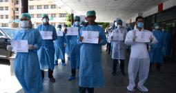 Doctors Protest Against Harassment Of Healthcare Professionals By Police