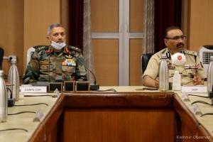 Top Security Brass Discusses Kashmir Situation