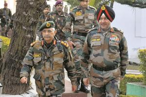 Army Chief to Visit Srinagar, Leh to Review Situation