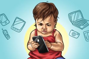 Keep Children Away From Mobiles