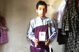 Meet Zahid Manzoor, A Special Kid With Special Talent