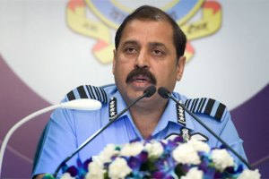 IAF Chief Visits Srinagar, Ladakh; Fighter Jets, Choppers Seen Over Leh